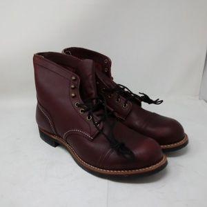 Red Wing Men's Iron Ranger Boot Oxblood 8119